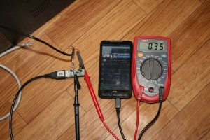Ток зарядки аккумулятора