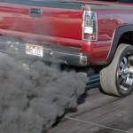 Черный дым из выхлопной