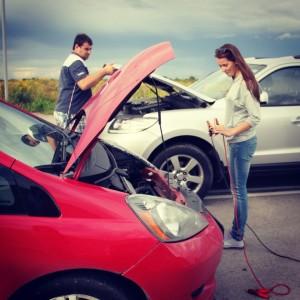 Прикуривание от автомобиля-донора