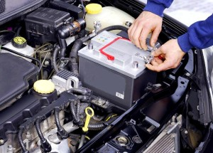 Зарядка аккумулятора на автомобиле