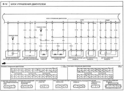 схема блока управления мотором